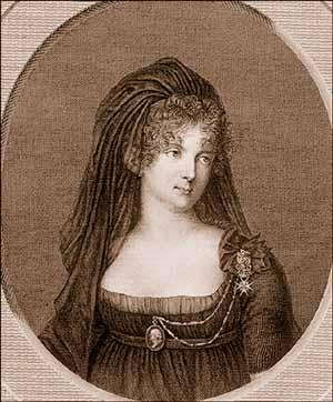 Портрет императрицы Марии Федоровны, жены Павла I