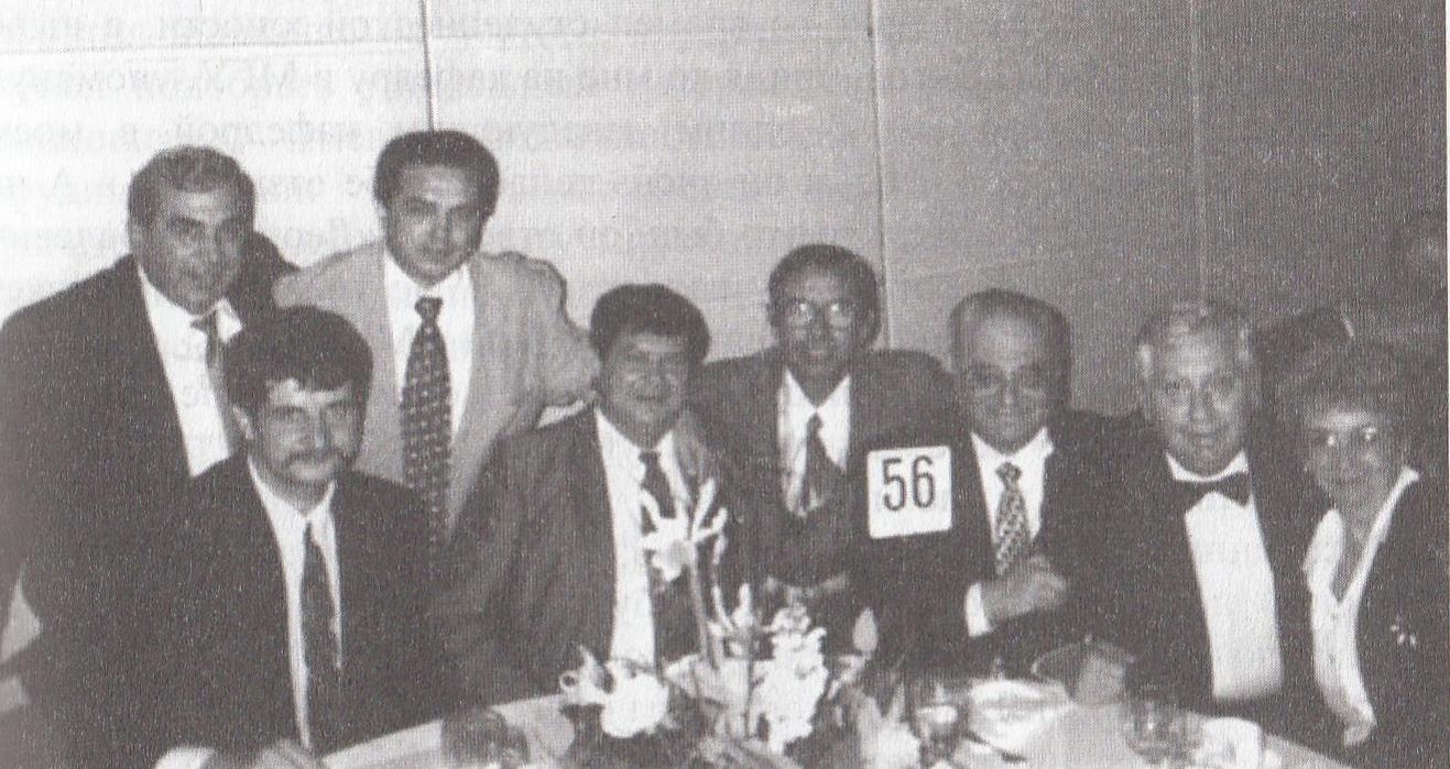 Л.Я. Мельников на Пальмаресе Всемирной филателистической выставки «Капекс-96» в Канаде
