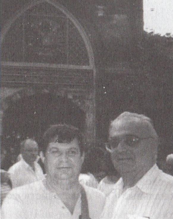 Л.Я. Мельников и автор в Стамбуле