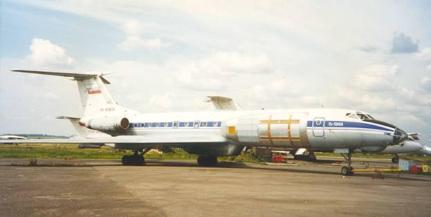 Радиолокационный комплекс «ИМАРК» на самолете-лаборатории Ту-134