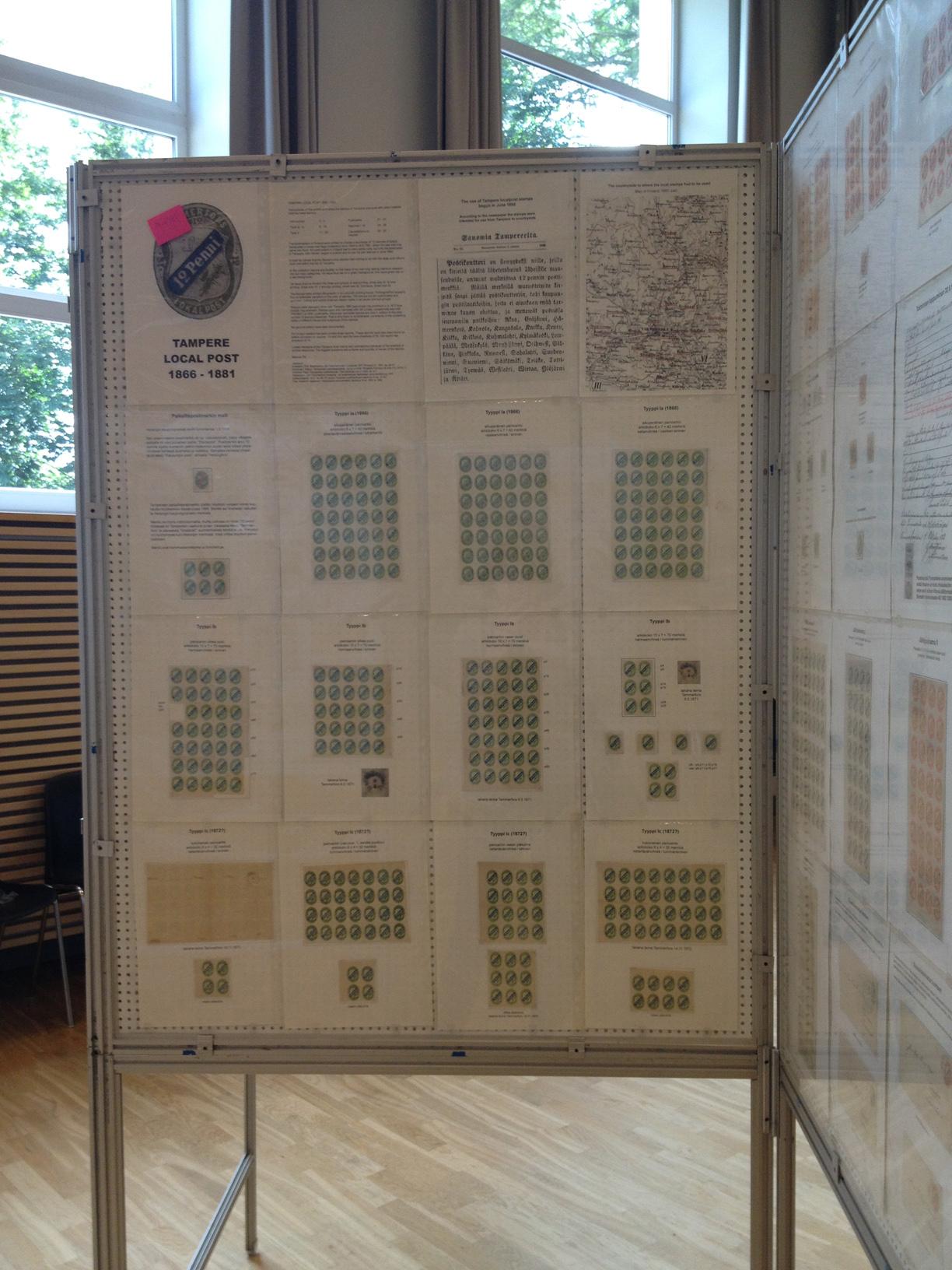 Стенд «Местная почта в Тампере» на выставке
