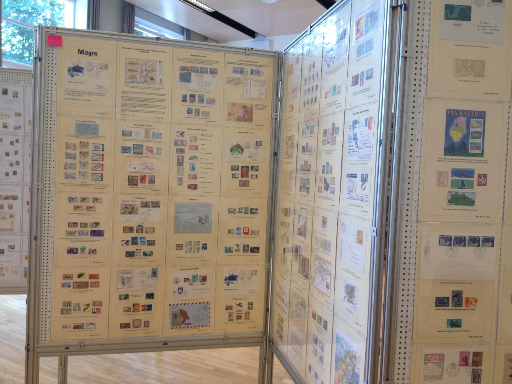 Стенд «Географические карты» на выставке