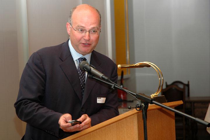 Президент клуба Патрик Мазелис.