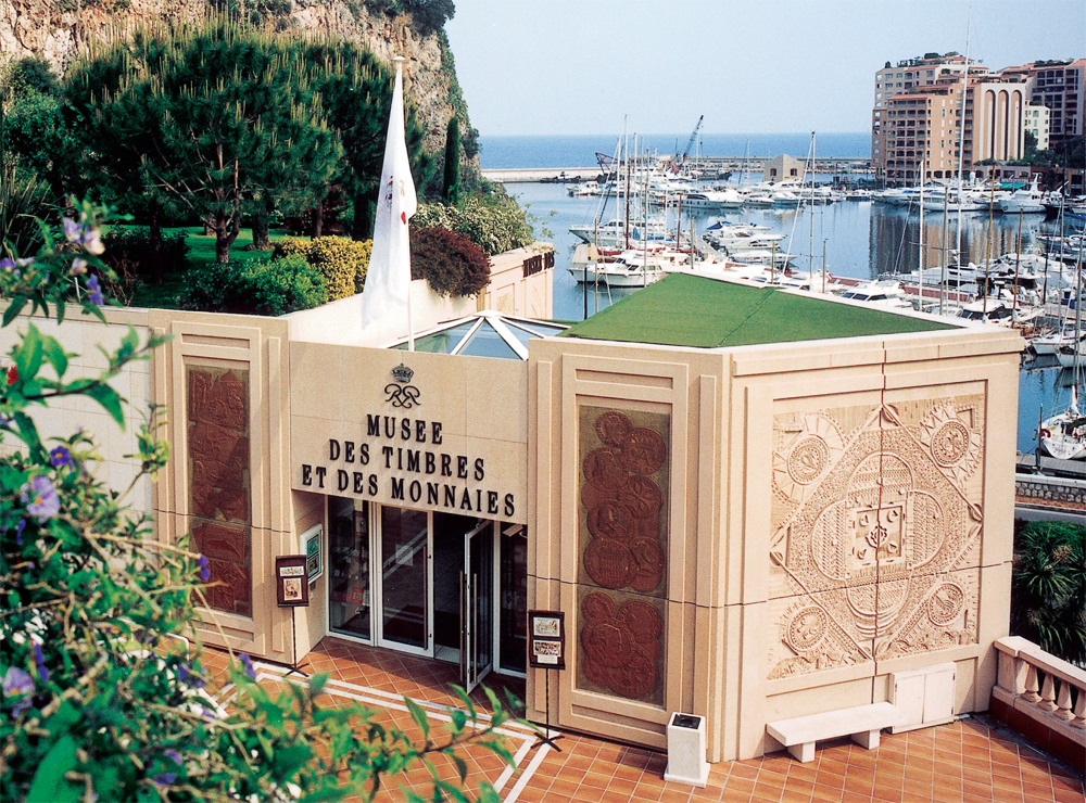 Музей марок и монет Монако.