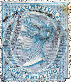 Маврикий: первые методы защиты почтовых марок