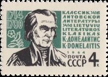 К. Донелайтис