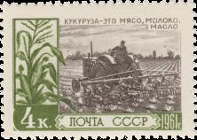 Культивация посевов кукурузы
