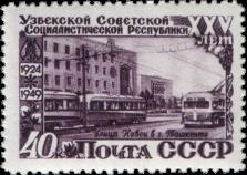 Улица Навои в Ташкенте