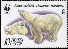 Медведица с медвежатами