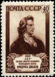 Портрет Ф. Шиллера