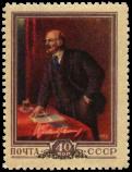 «В.И. Ленин выступает»