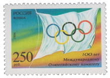 Флаг МОК