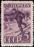 Воины-лыжники
