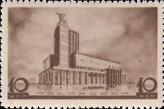 Театр на площади Маяковского (первоначальный проект)